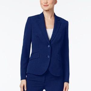 Anne Klein Executive Collection Jacket Navy Size 4